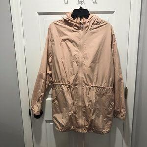 Light Pink Old Navy Rain Coat